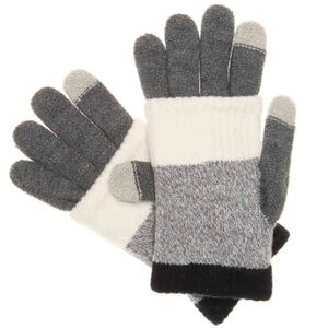 Steve Madden MultiStripe Purl Knit iTouch Glove